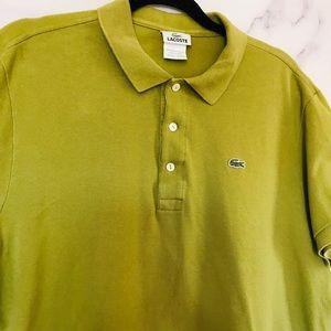 Lacoste men's polo shirt size large